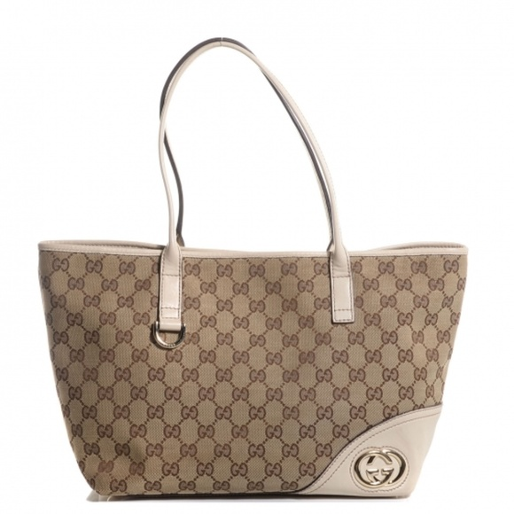 7d2a01ec7 Gucci Bags | Medium Shopper Authentic Britt | Poshmark